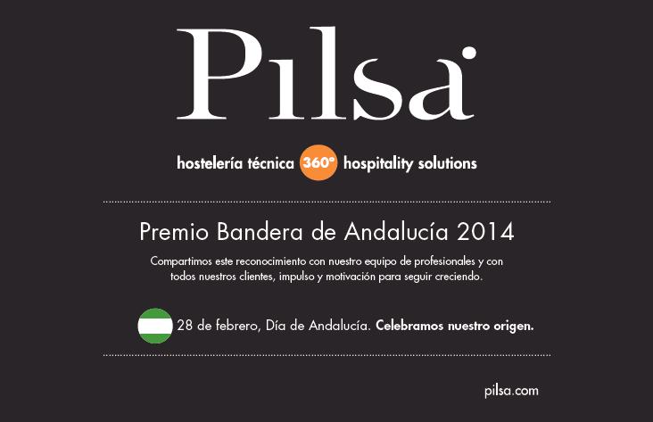 Recibimos el premio Bandera de Andalucía 2014