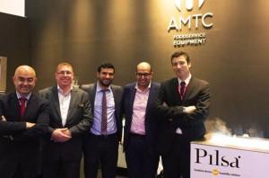 Ricado González, Fernando Moreno y AMTC Group